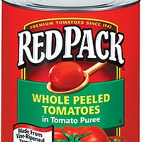 Red Pack Whole Peeled Tomatoes in Puree
